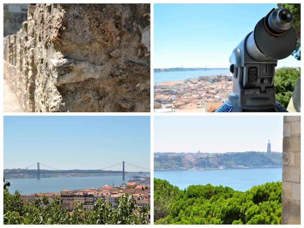 Portugal - Lisbonne - Castelo Sao Jorge