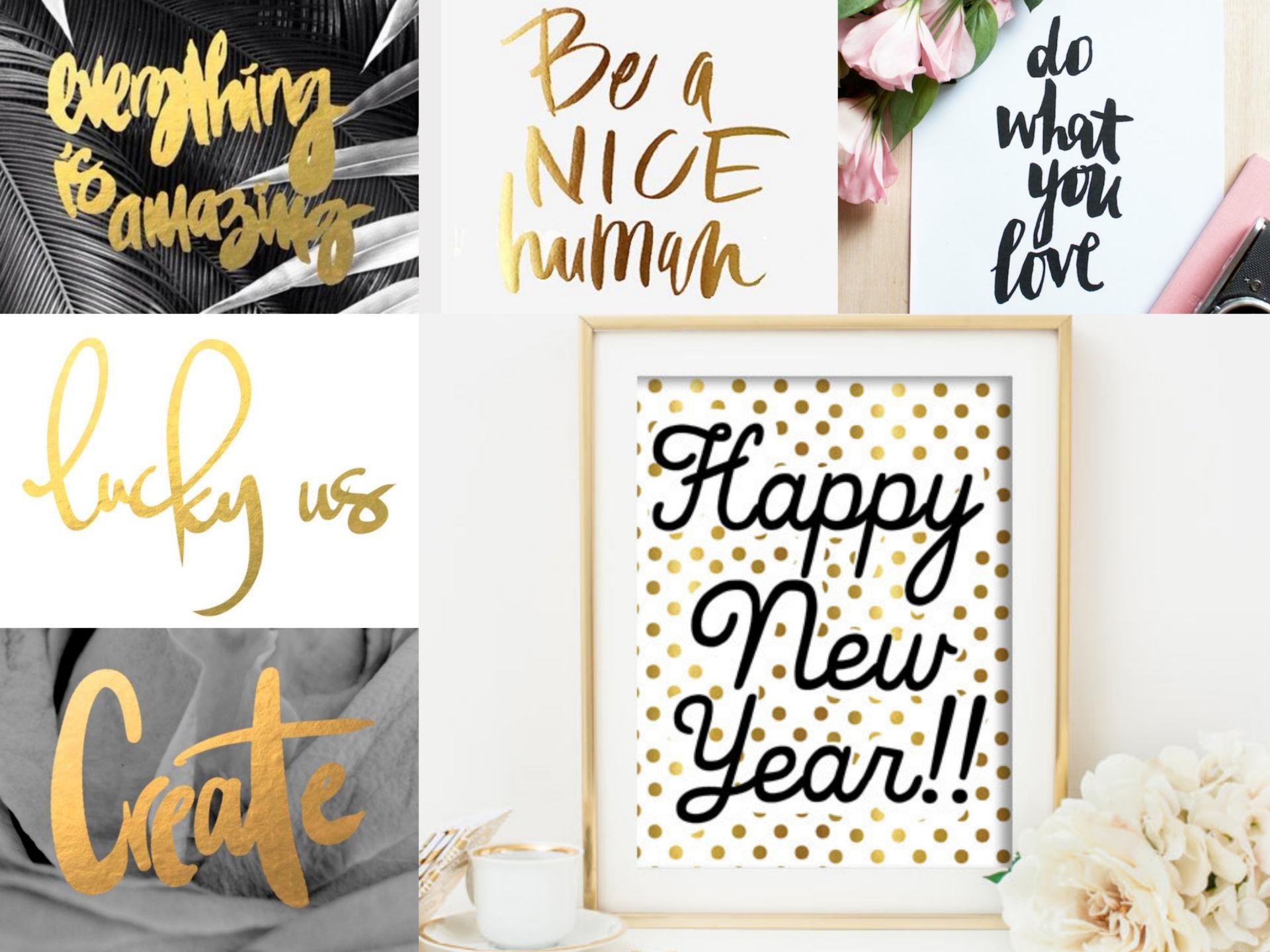 Collage Bonne année 2015