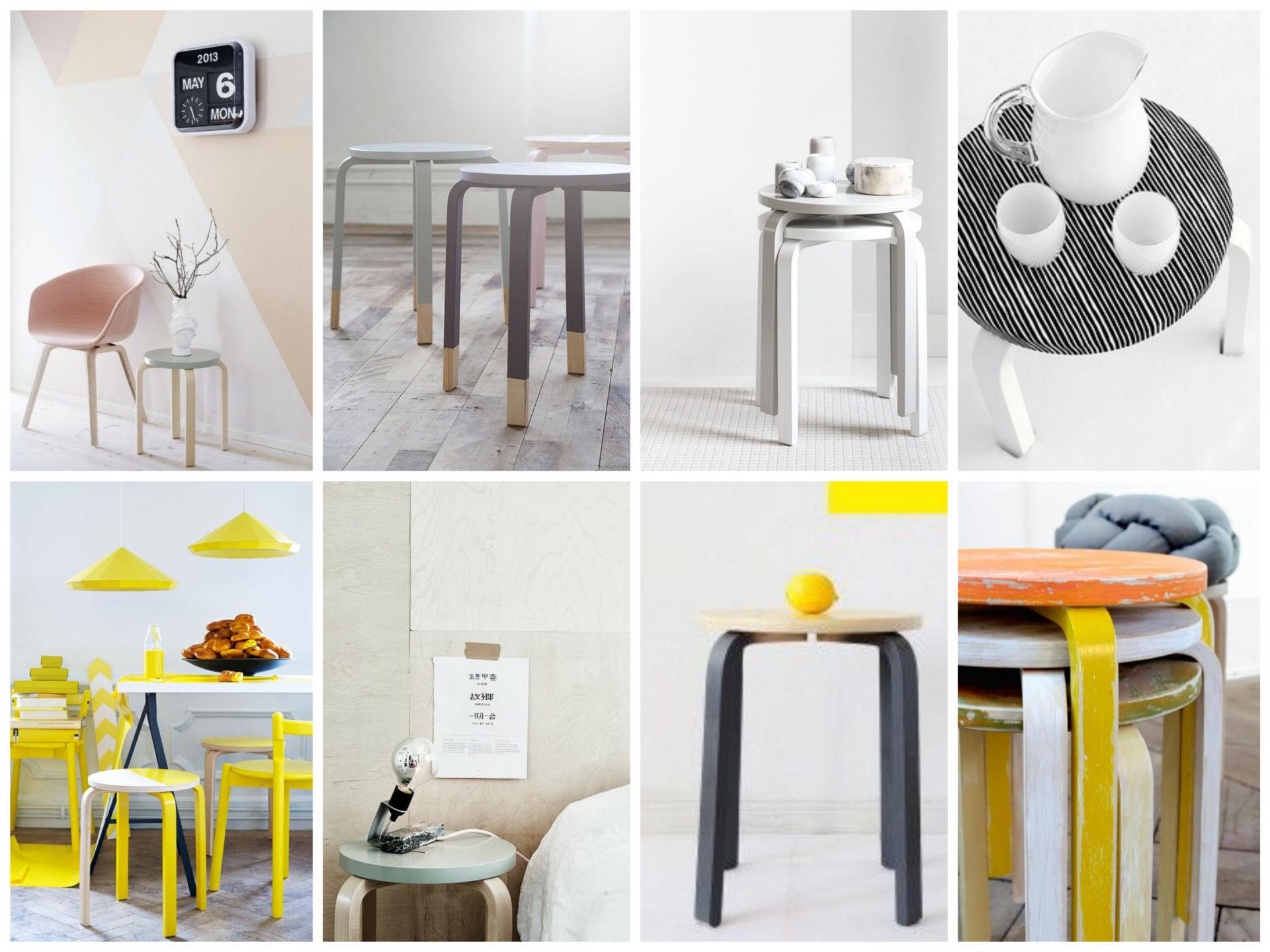 Diy Tabouret Ikea Customisé Mange Brille Aime