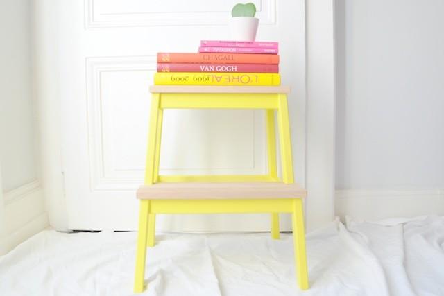 diy tabouret ikea customis mange brille aime. Black Bedroom Furniture Sets. Home Design Ideas