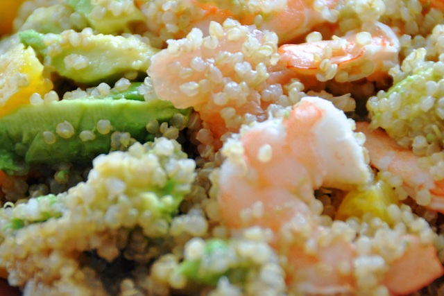 Salade Quinoa Agrumes