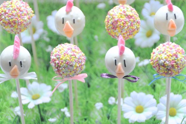Recette de Cake Pops de Pâques!