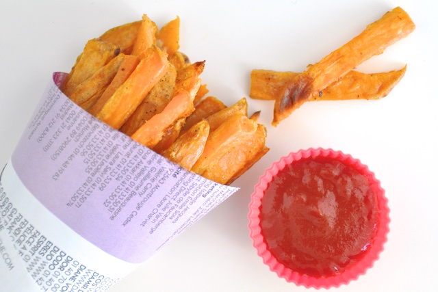 Frites de Patates Douces