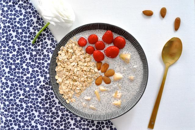Pudding de Chia: le petit-déjeuner des champions! | MANGE BRILLE AIME
