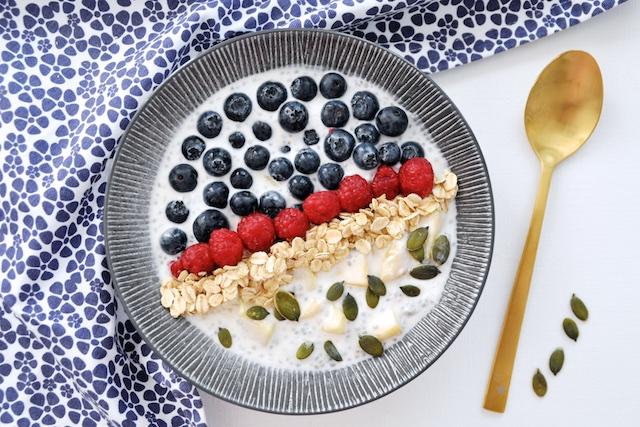 Pudding de Chia: le petit-déjeuner des champions!