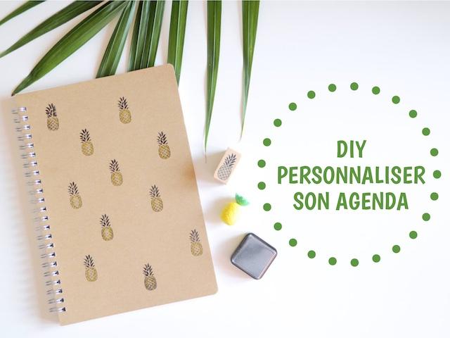 DIY Personnaliser son agenda