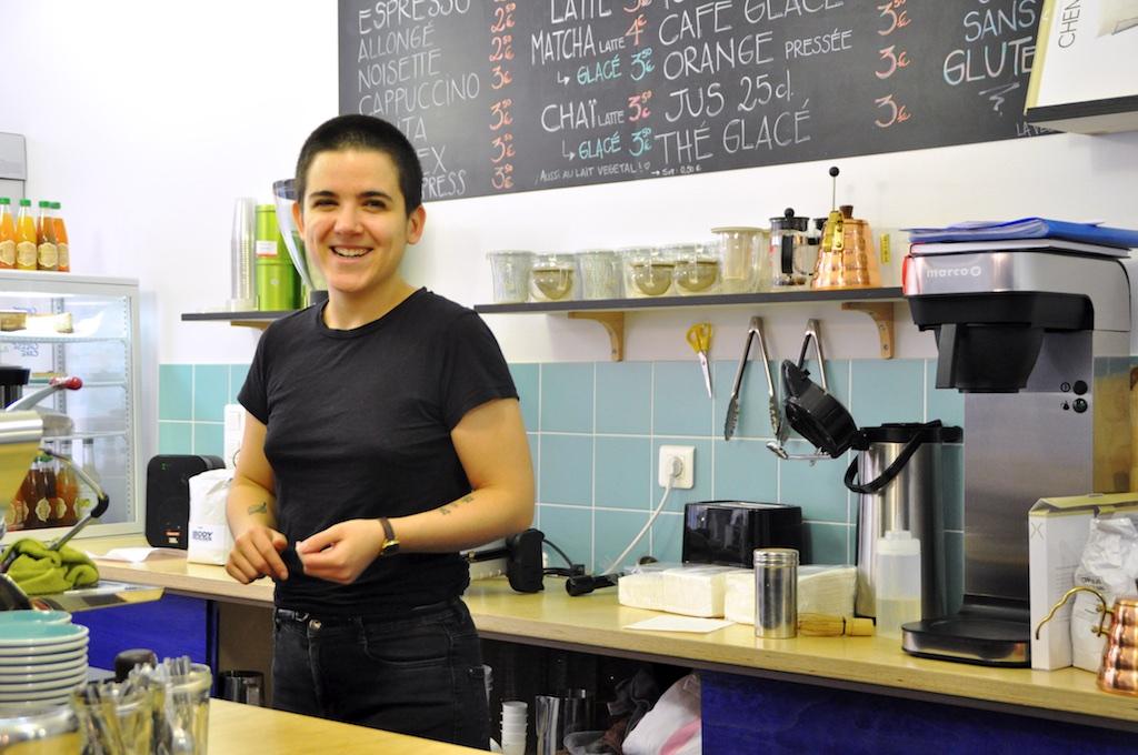 PAROLES D'ENTREPRENEUR: DELPHINE, LE TIGRE COFFEESHOP
