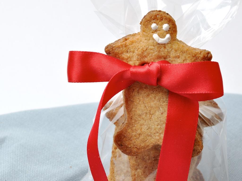 Bonhomme en pain d'épices crousti moelleux