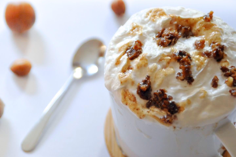 Latte Noisette Caramel Starbucks Recette Maison Vegan