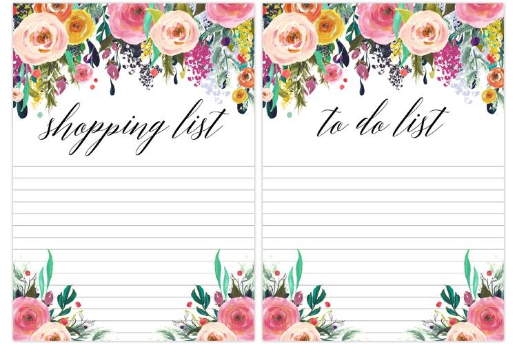 5 To Do List imprimables (et belles) (et surtout gratuites!)
