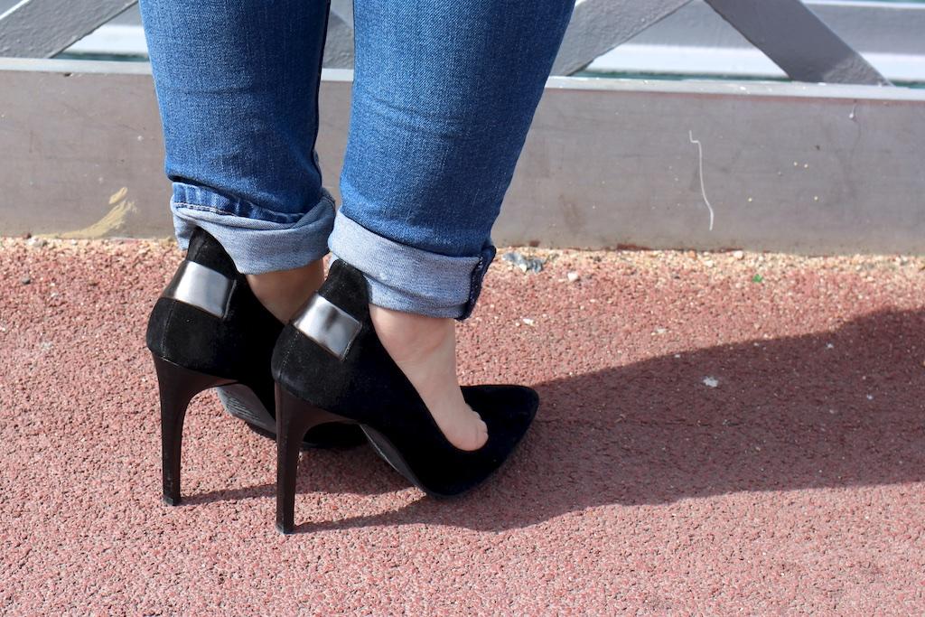 Look 4 black and jean - MangeBrilleAime