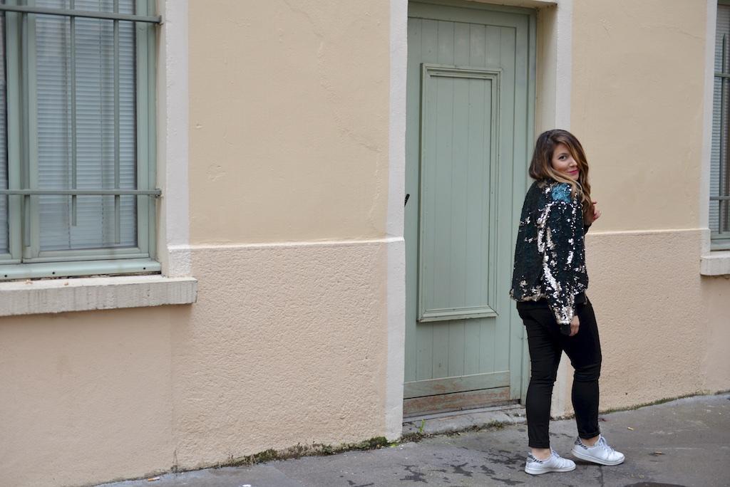 Look 10 sequins & glitters - MangeBrilleAime