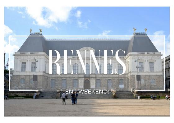 Rennes en un weekend Mange Brille Aime