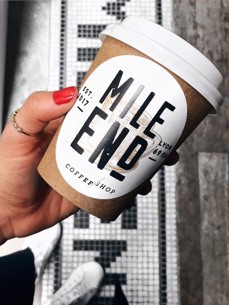 Mile End Lyon Coffee Shop - Mange Brille Aime