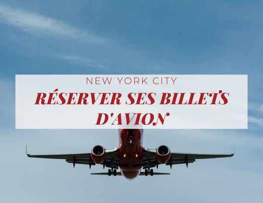New York réserver billet d'avion