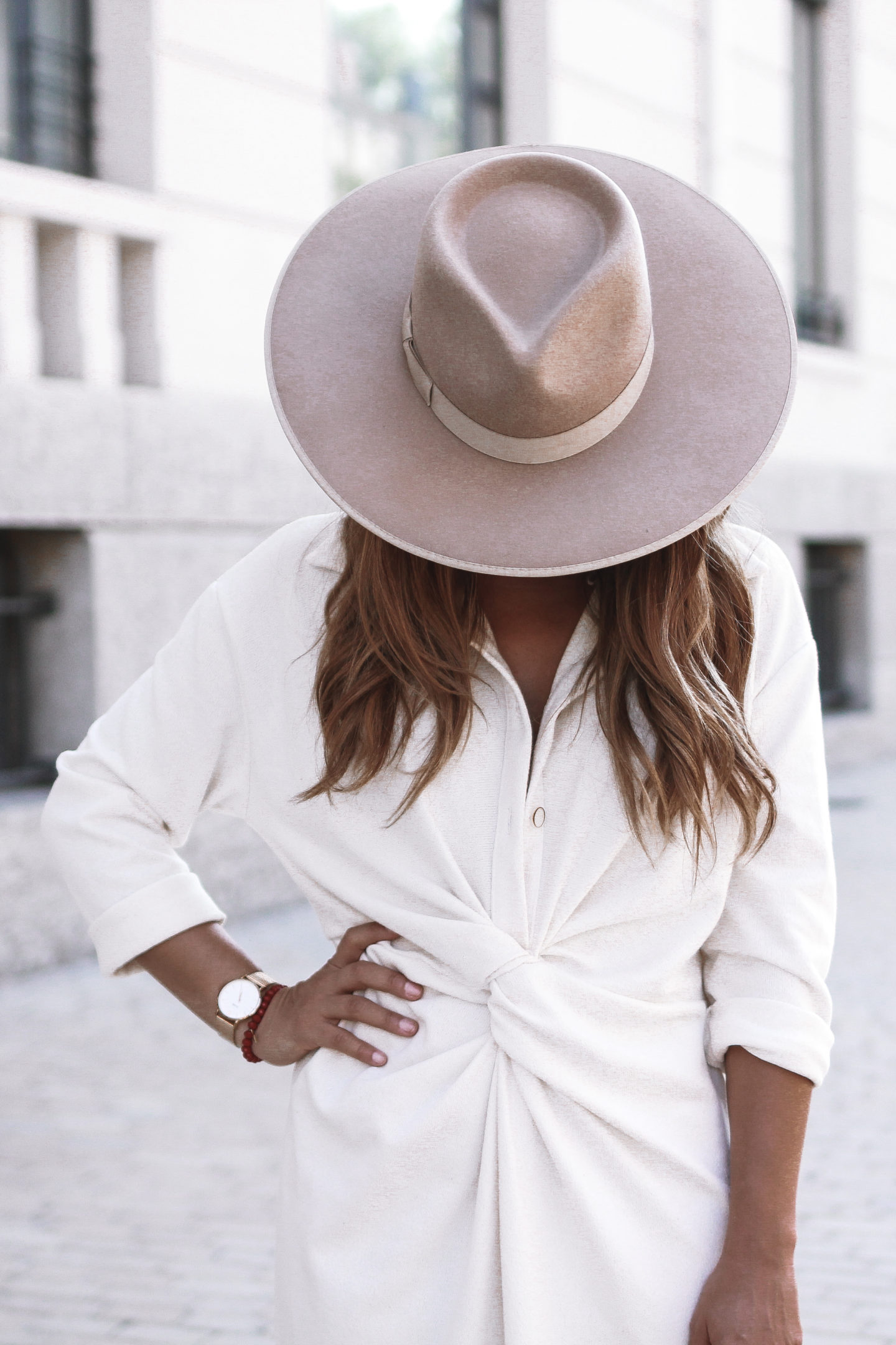 robe chemise à noeud Zara Chapeau Zulu Rancher Lack of Color