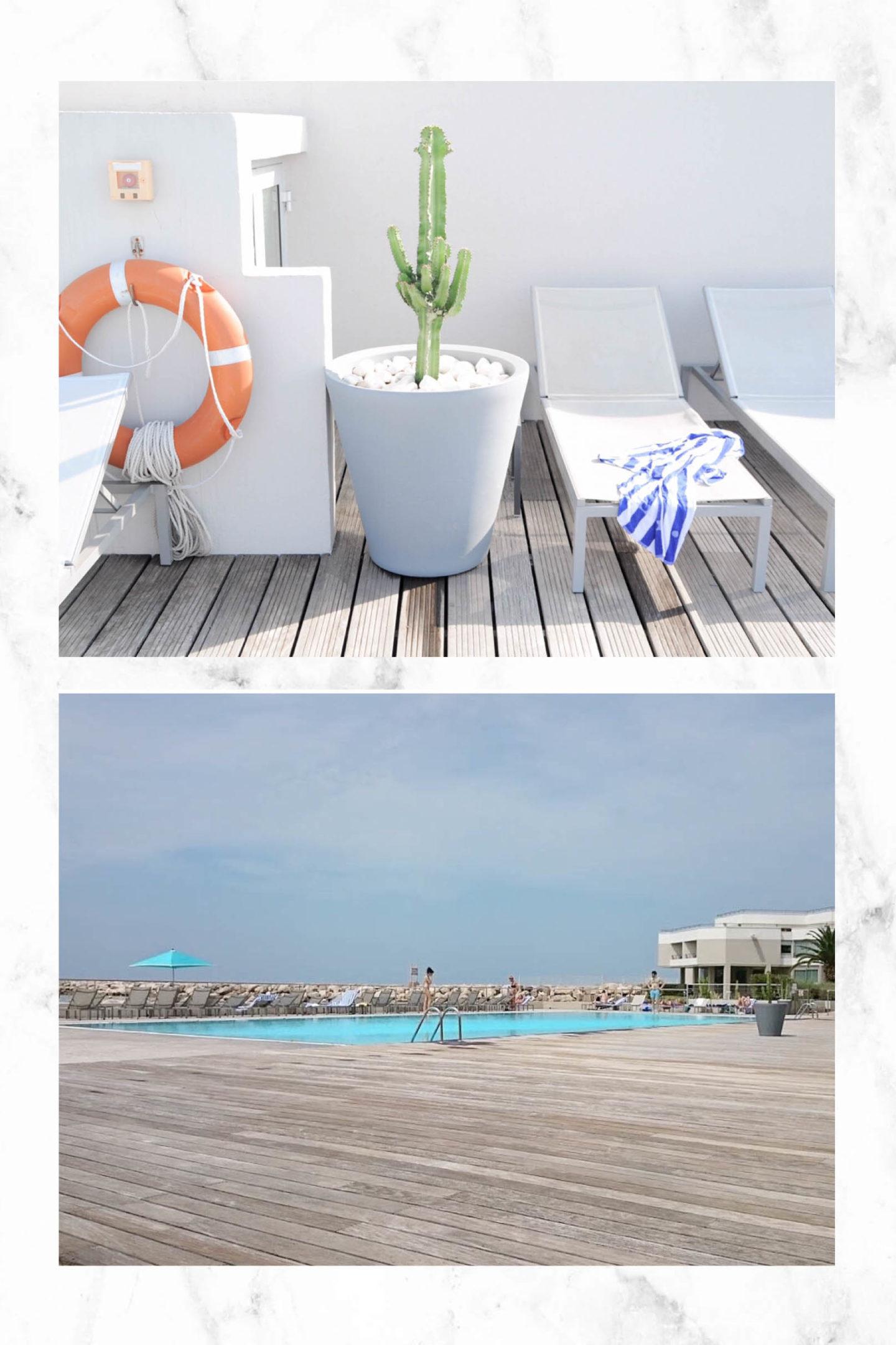 Hotel Pullman Palm Beach Marseille piscine