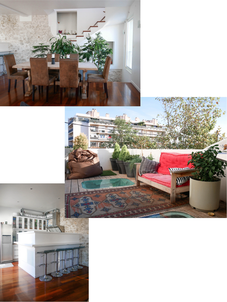 Marseille Airbnb avec rooftop