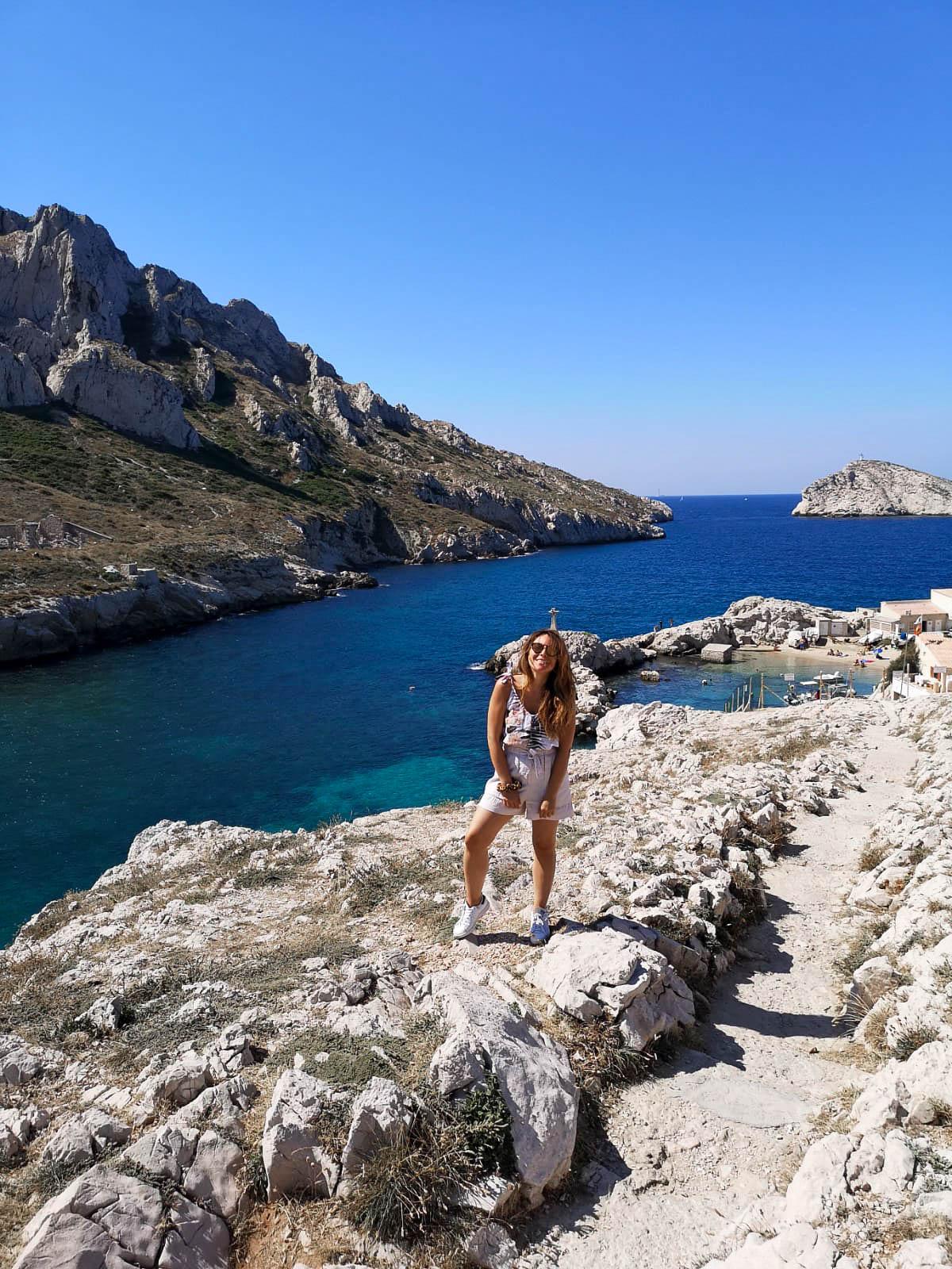 Marseille calanques baie des singes
