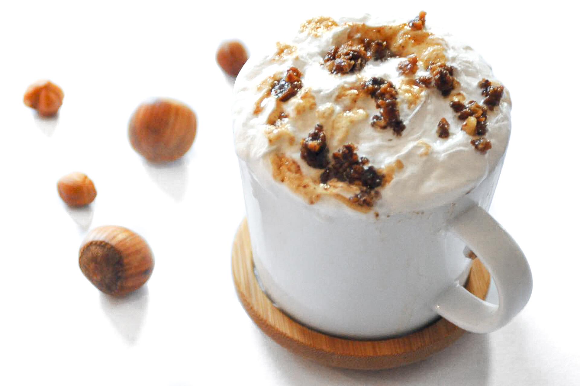 Latte Noisette Caramel Starbucks