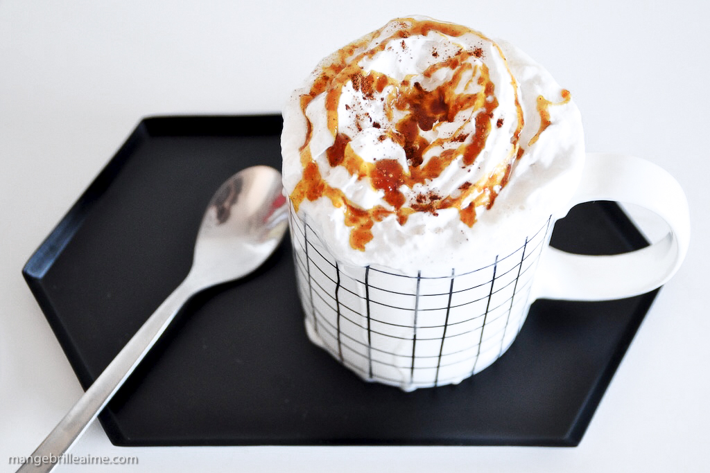 Pumpkin Spice Latte Starbucks Vegan