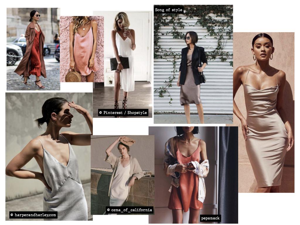 idées de tenues nuisette féminine