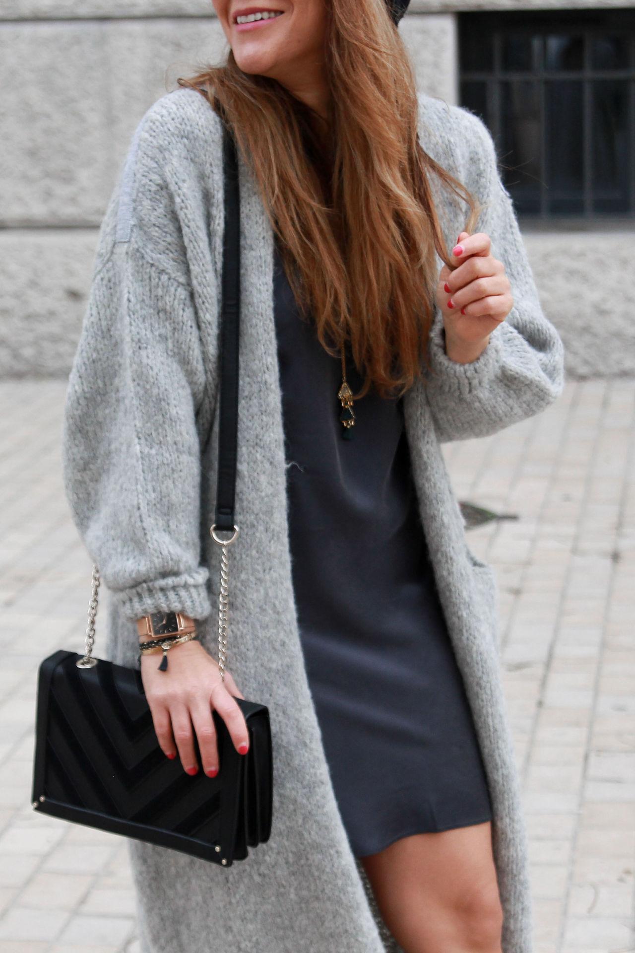 tenue d'hiver avec une nuisette