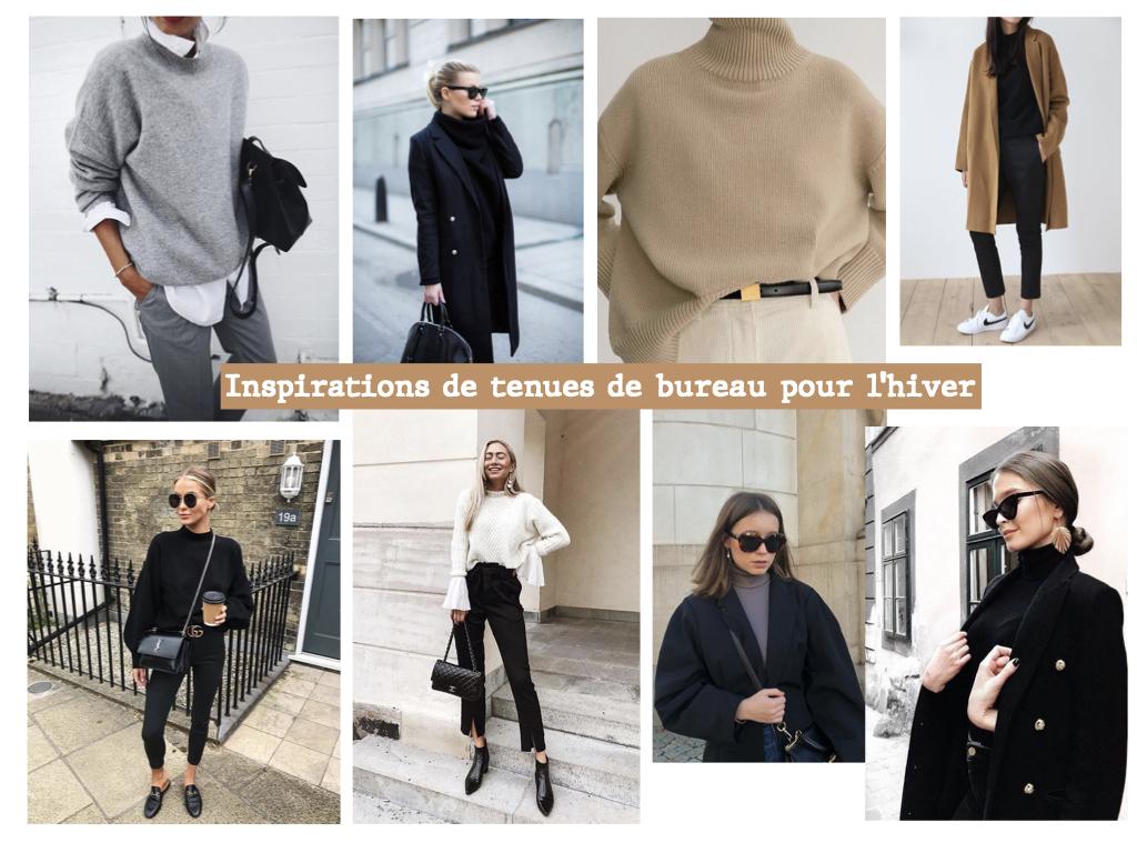Inspirations de tenues de bureau hiver