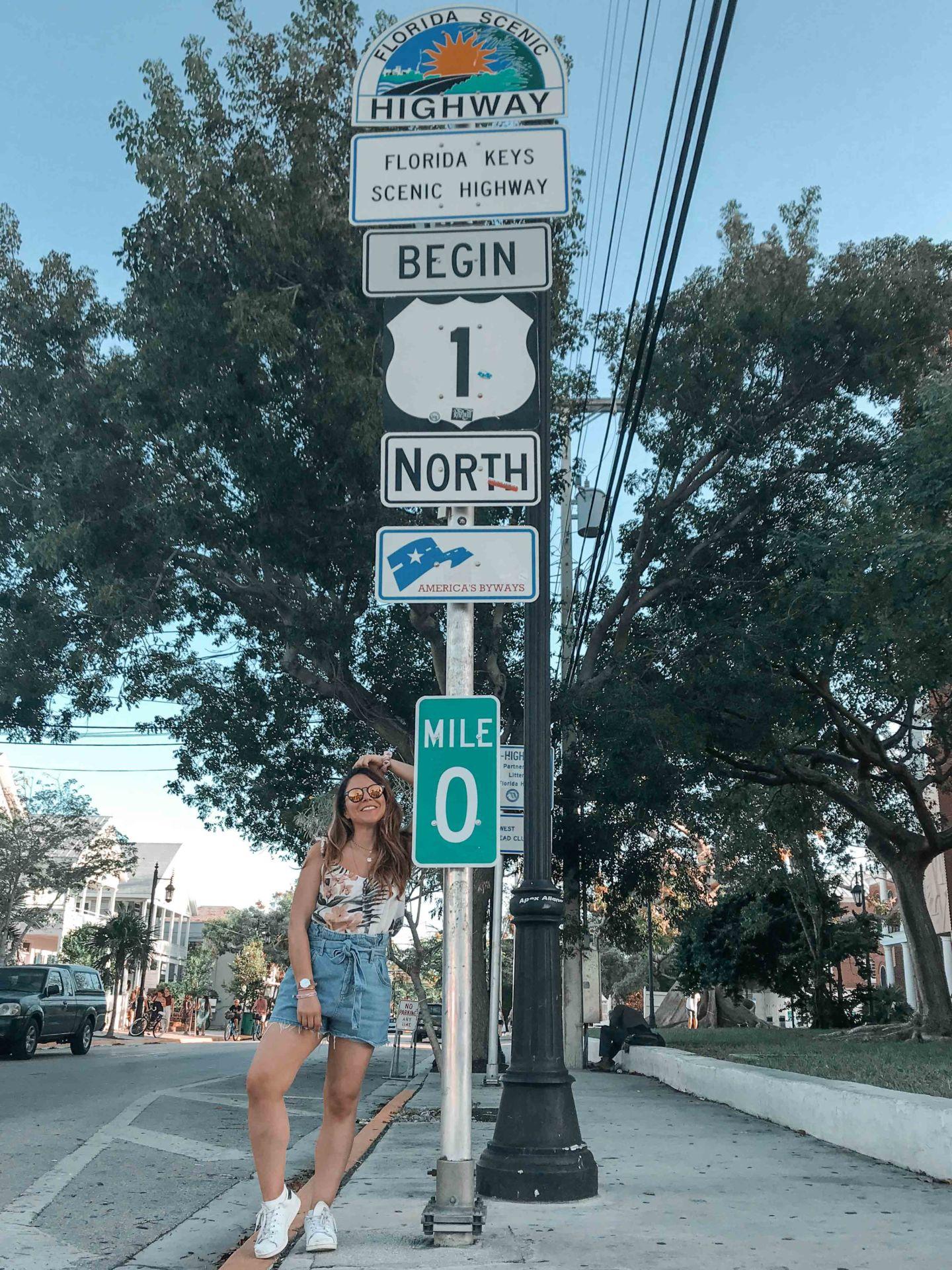 Key West Mile Zero
